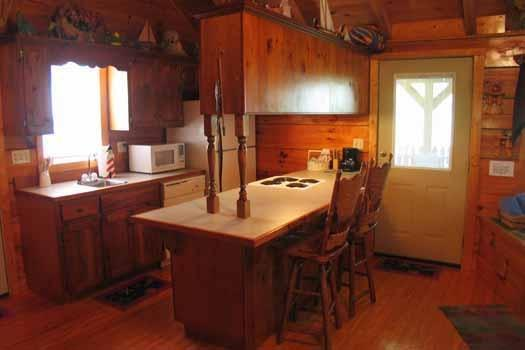 Kitchen at Forever Yours