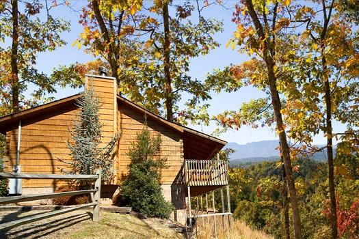 Exterior Side View at Mountain Magic