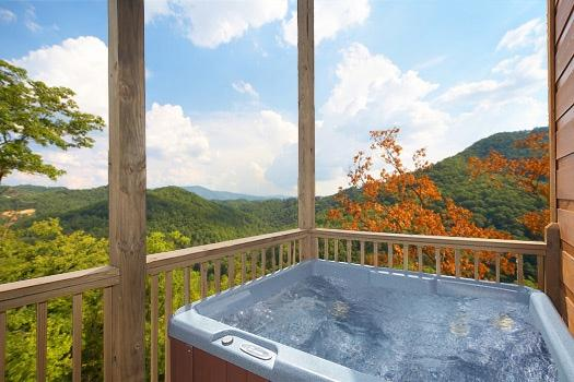 Hot Tub at A Perfect Getaway