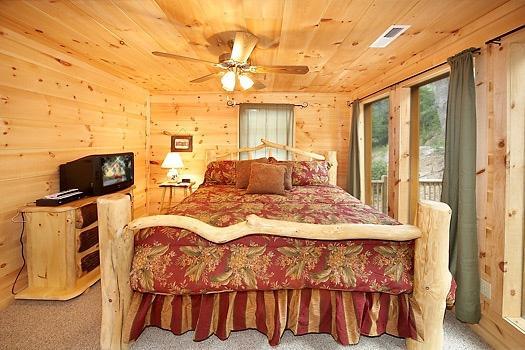 Main Floor Bedroom at A Perfect Getaway