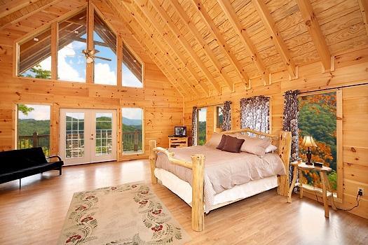 Thrid Floor Bedroom at A Perfect Getaway