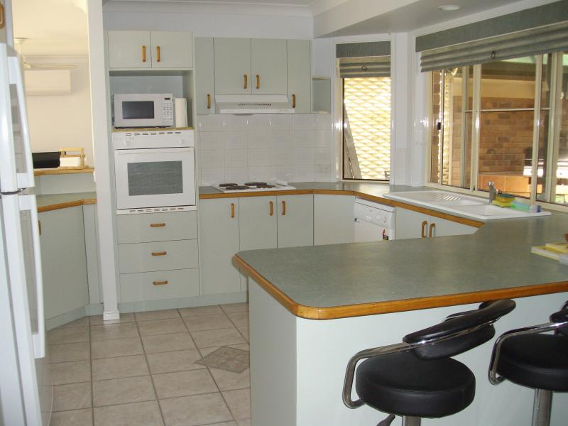 Fully Equipped Large Kitchen