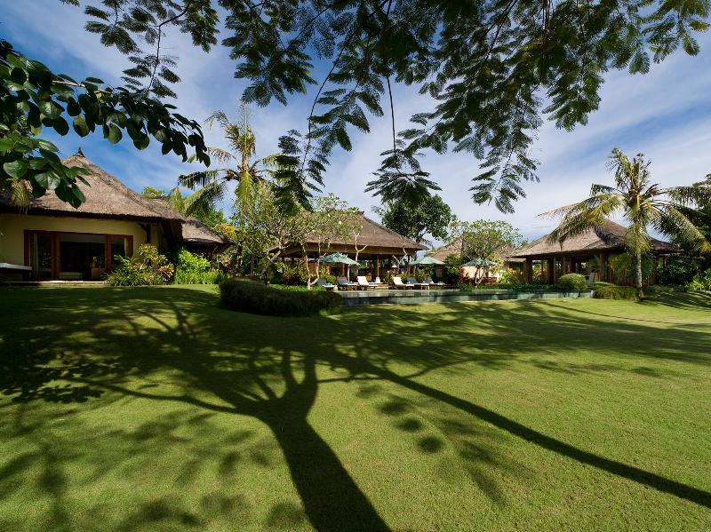 1. Surya Damai - Villa gardens