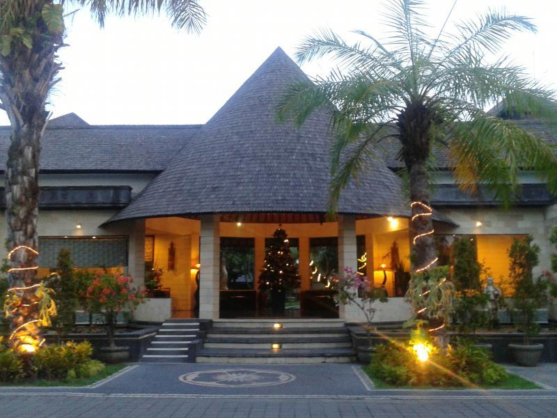 Lobby of The Bidadari Villas and Spa