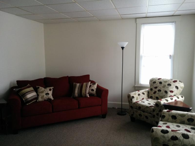 Living room chat area.