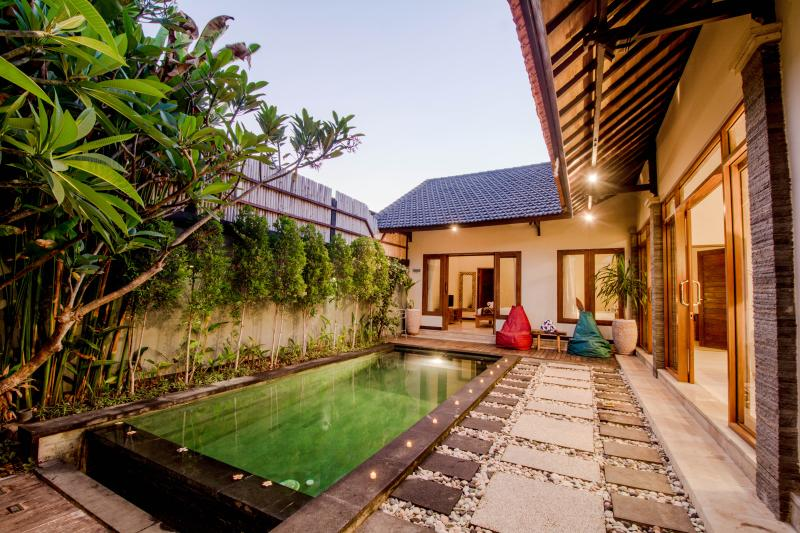 The luxury 3 BR villa in seminyak and walking distance to beach