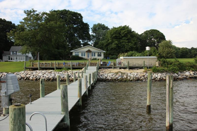 View of property from dock