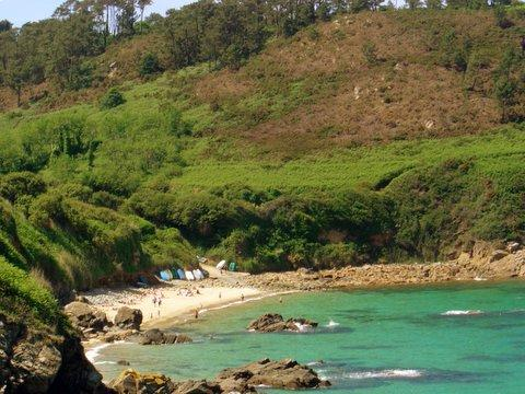 Our favourite cove is just 10 minutes drive away.