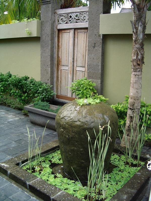 Entrance to Villa