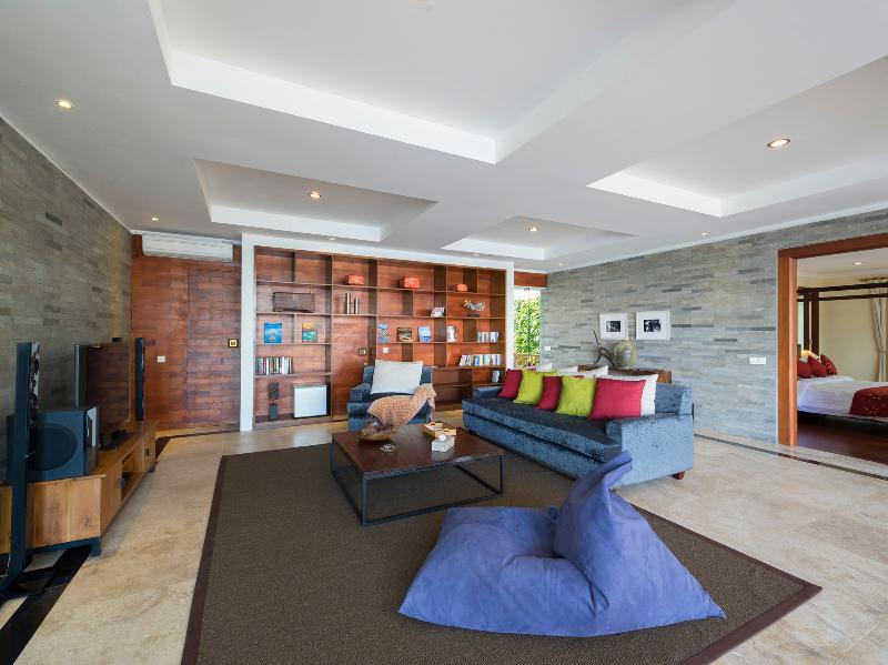 Villa Asada - Media, library room