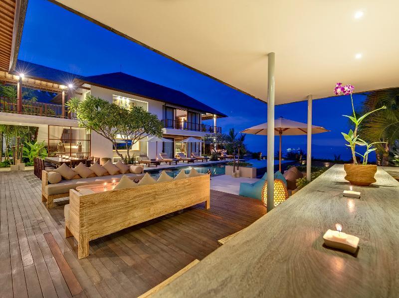 Villa Asada - View from bar area