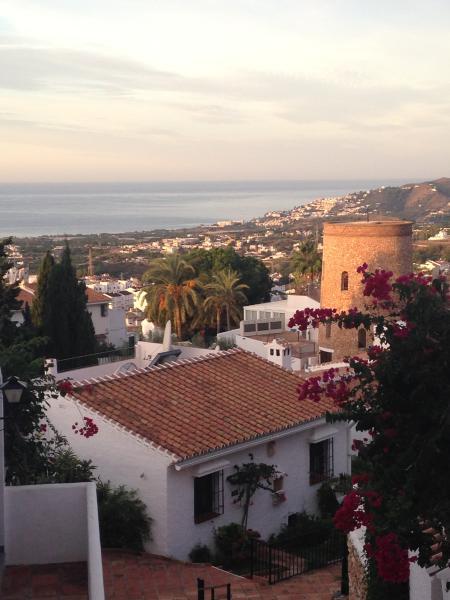 View over Nerja from San Juan Capistrano