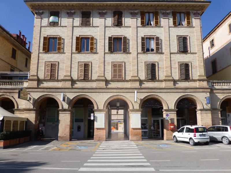 accesso all'edificio
