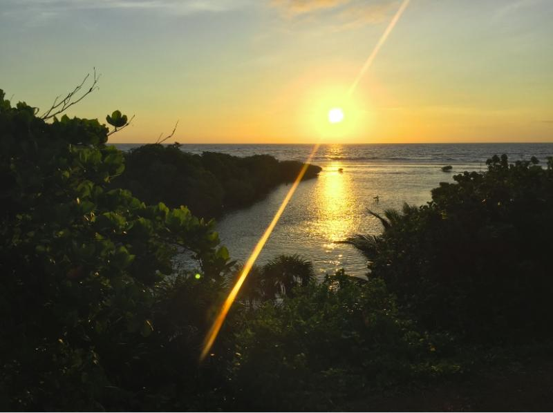 Welcome Roatan!! Morning Sunrise
