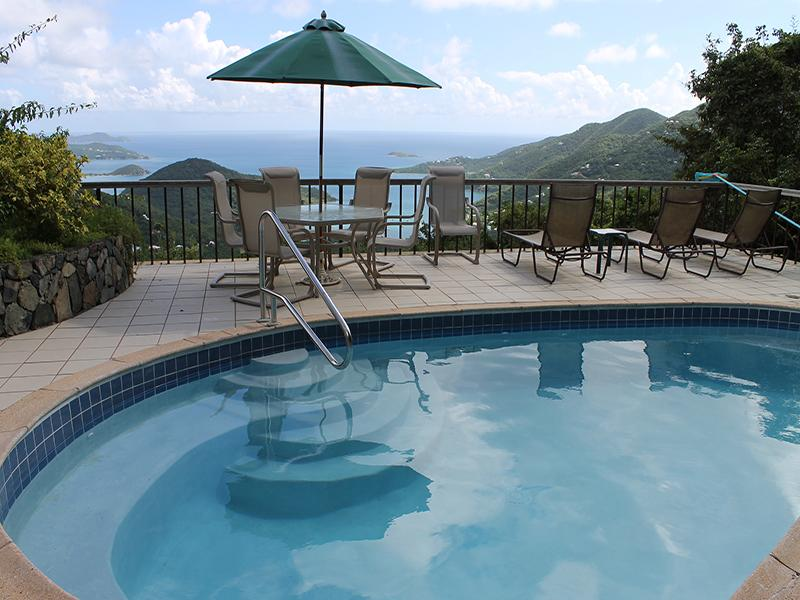 Pool Deck View of Coral Bay