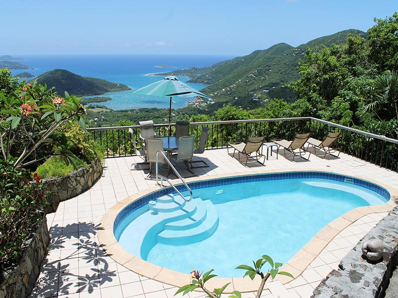 Swim or relax with the view on the Pool Deck