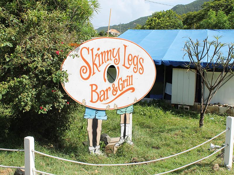 Good Burgers at nearby Skinny Legs!