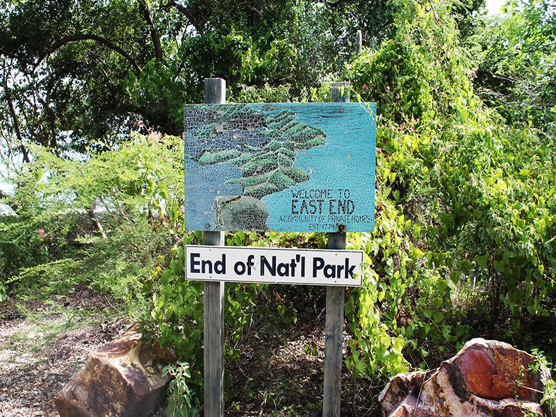 Short drive to National Park and East End St John Beaches