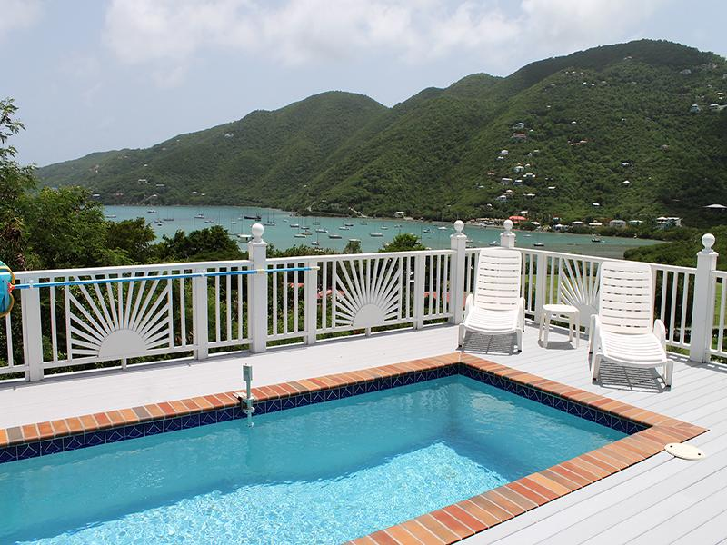 View of Coral Harbor from pool deck