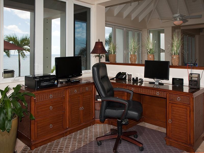 9-escritório com vista para Great Room