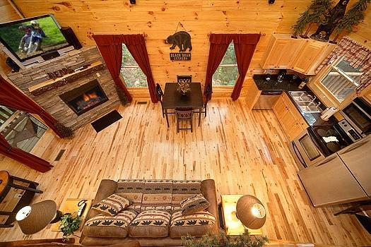 Living Room at Big Bear Cub House