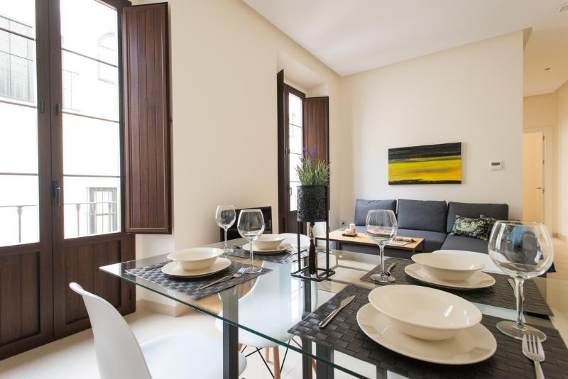 Área de estar e de jantar