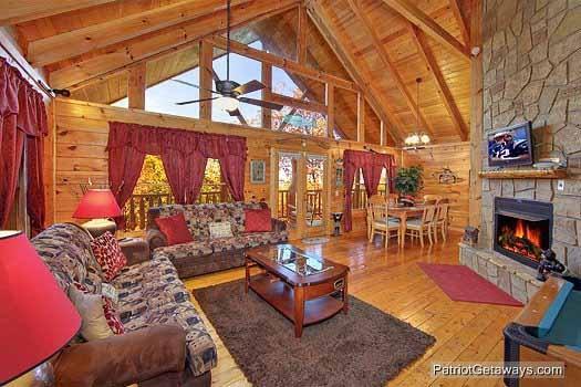 Living Room at Fishin' Hole