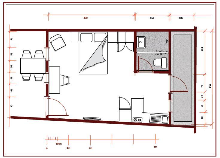 Floor plan room 4