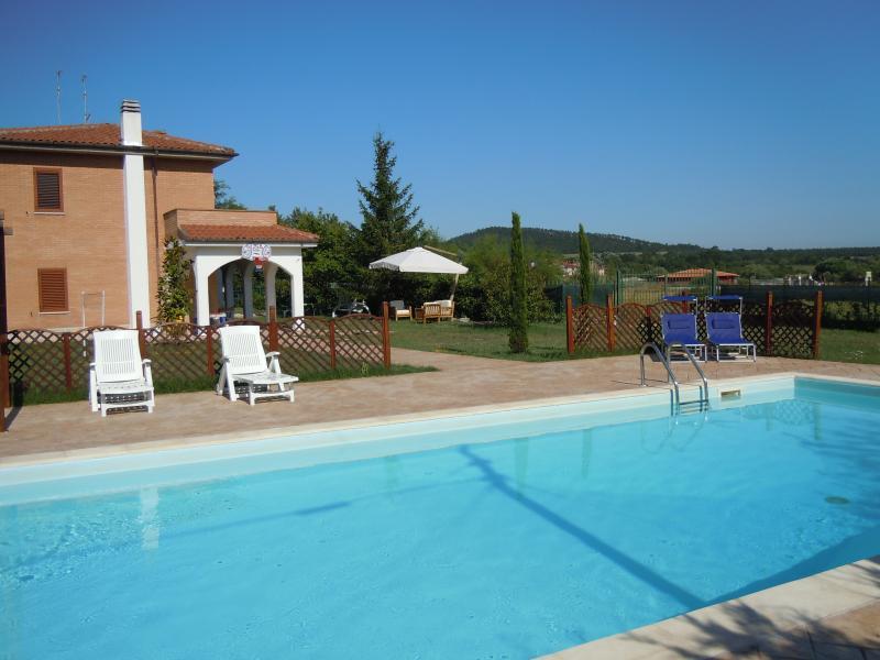 Villa con piscina privata d'estate e a 15 minuti di auto dalle piste da sci di Campitello Matese.