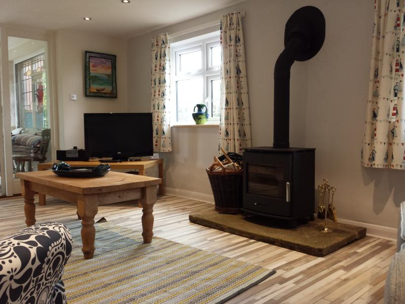 Spacious Lounge with a fabulous log burner for those cooler days