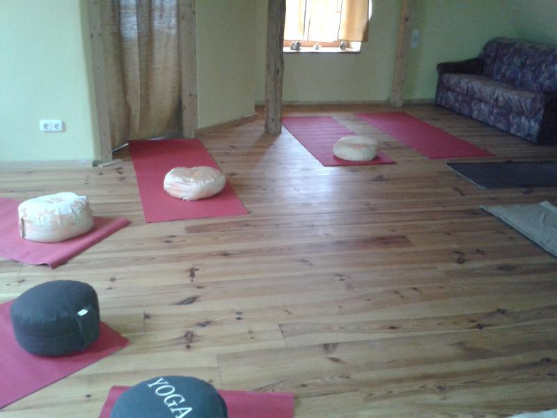 Seminarraum, 6 'Schlafsackplätze auf Isomatten' - Seminar room, 6 your sleeping bag