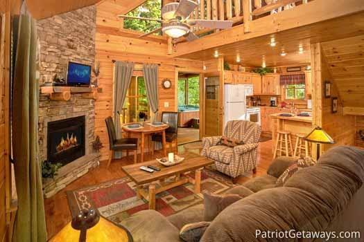 Living Room at Gentleman Jack's