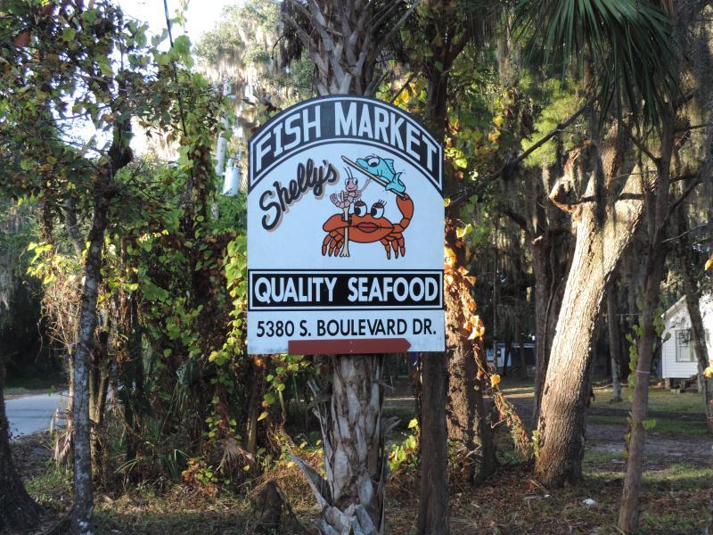 Lots of fresh seafood around!