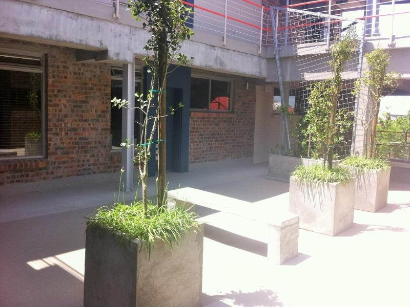Outside from all studios we have communal terrace