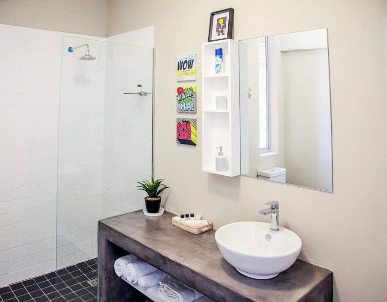 Ensuite Bathroom with only shower and fresh towels will be replenish daily