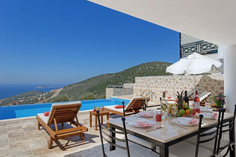 Private villa with a seaview in Kalkan