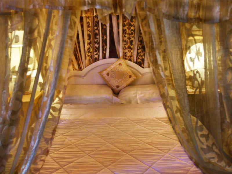 The Canopy Room.