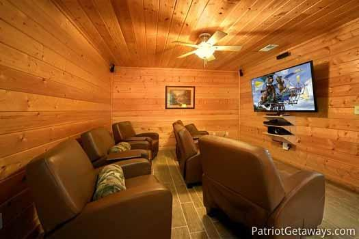 Home Theater at Black Bear Lodge