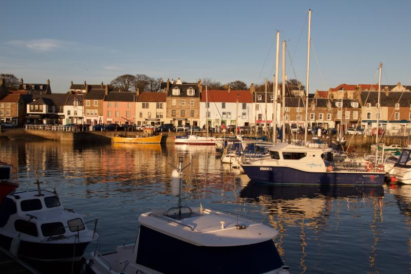 Anstruther Harbour, 4 miles from Crail