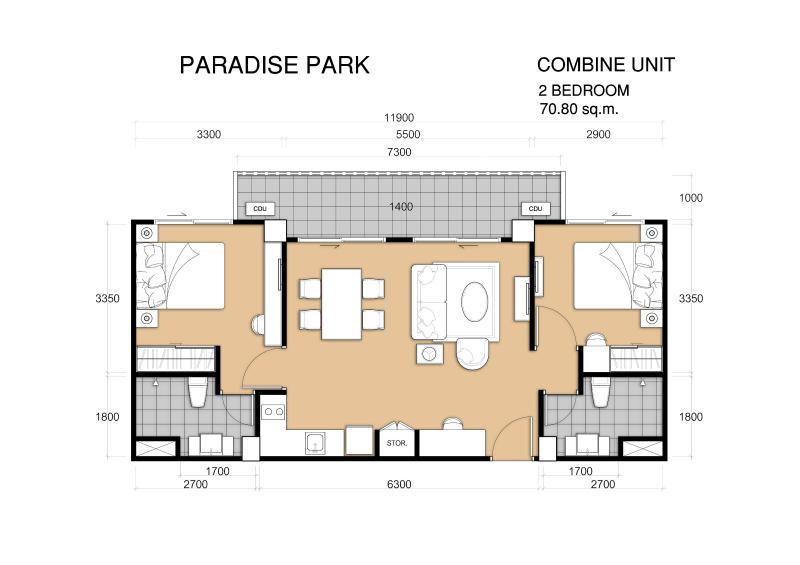 ontwerp van de kamer