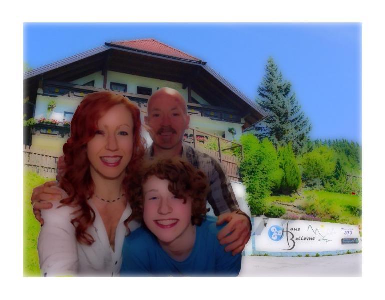 Family Hewitt and Haus Bellevue