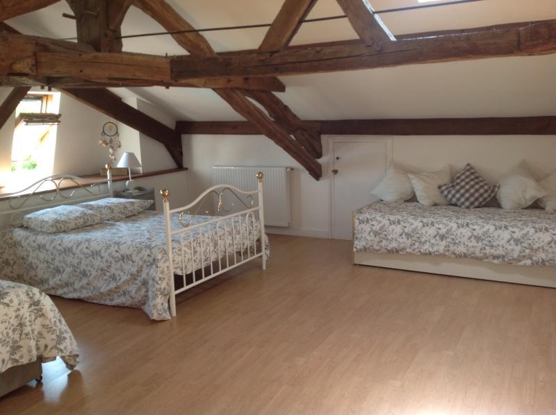 Upper Schoolhouse attic bedroom