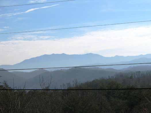 View of the Smoky Mountains at Rock Around The Clock