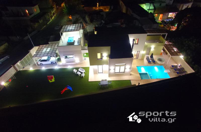 Aerial photo of SportsVilla.