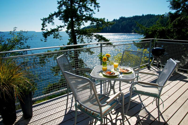 NEW waterfront decks with expansive views and sunshine