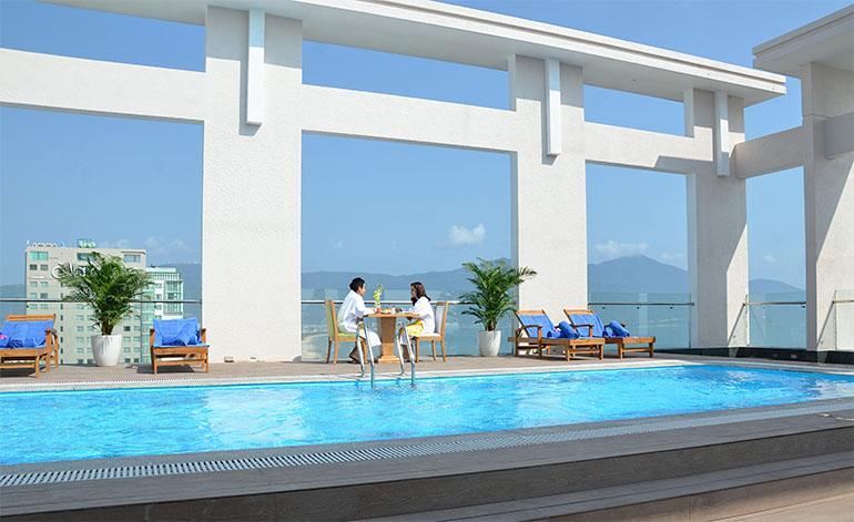 Premier Ocean view at Diamond Sea Hotel, location de vacances à Phuoc My