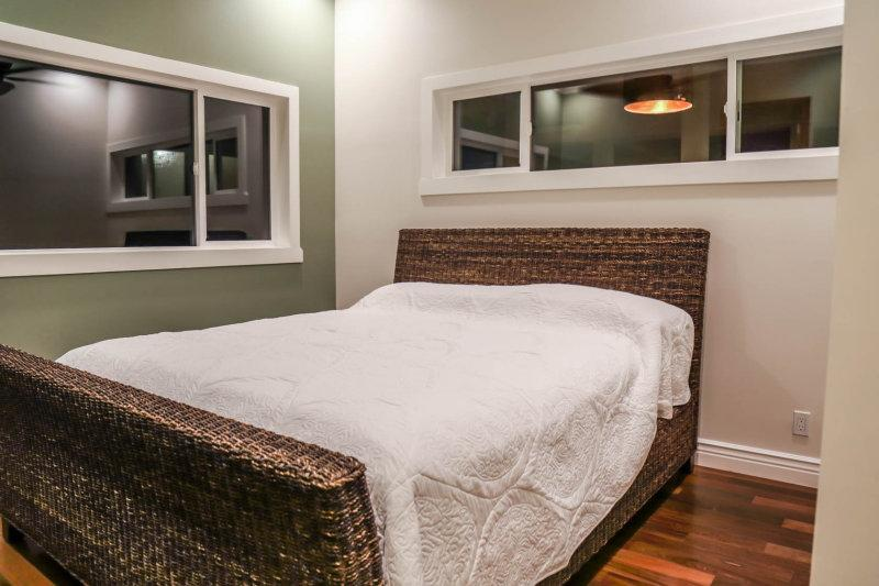Additional bedroom with A/C, ceiling fans, flat screen TV and ranch views.
