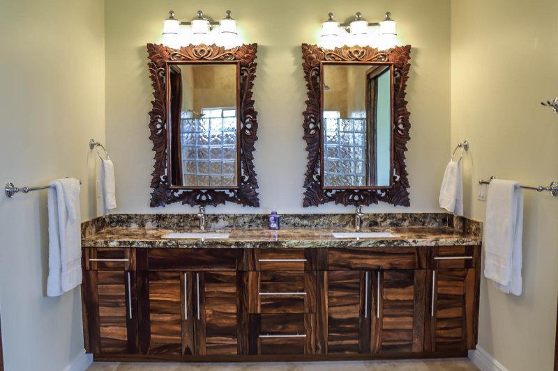 Gorgeous master bathroom.