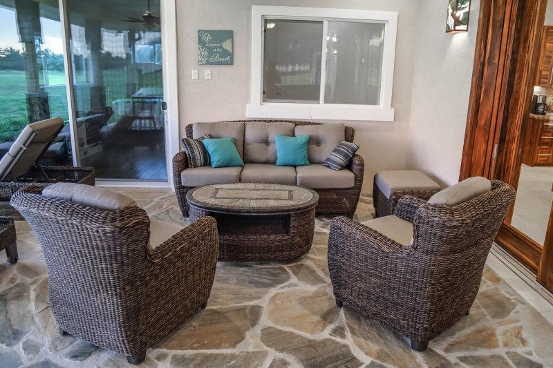 Comfortable seating area perfect for enjoying company