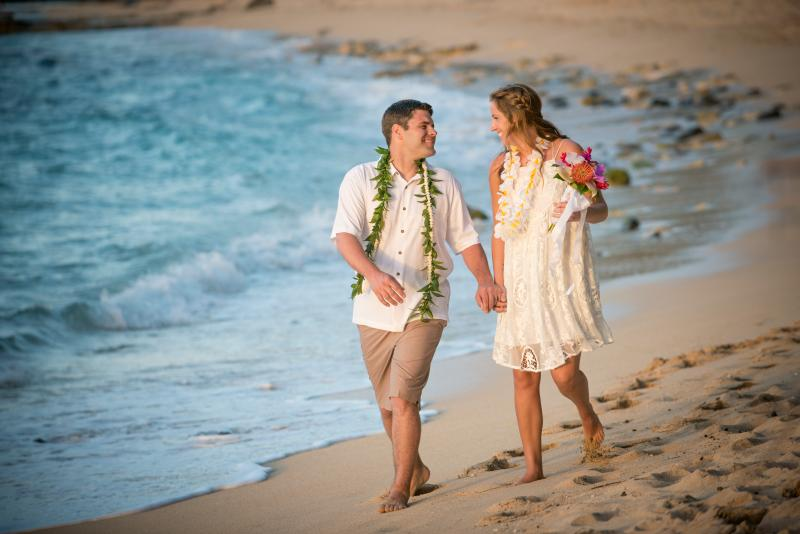 Getting married?  Let us arrange a beautiful North Shore beach wedding for you.